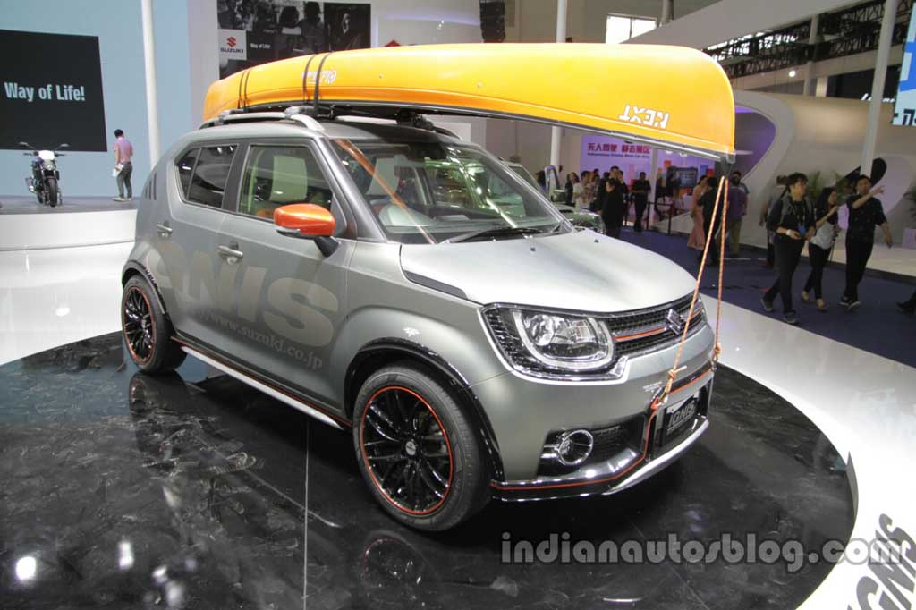 suzuki ignis trail concept and water activity concept. Black Bedroom Furniture Sets. Home Design Ideas