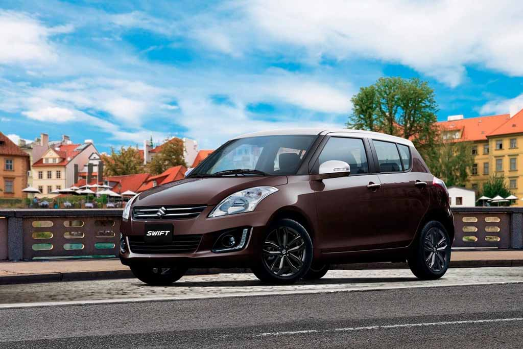 suzuki swift bicolour special edition launched in chile