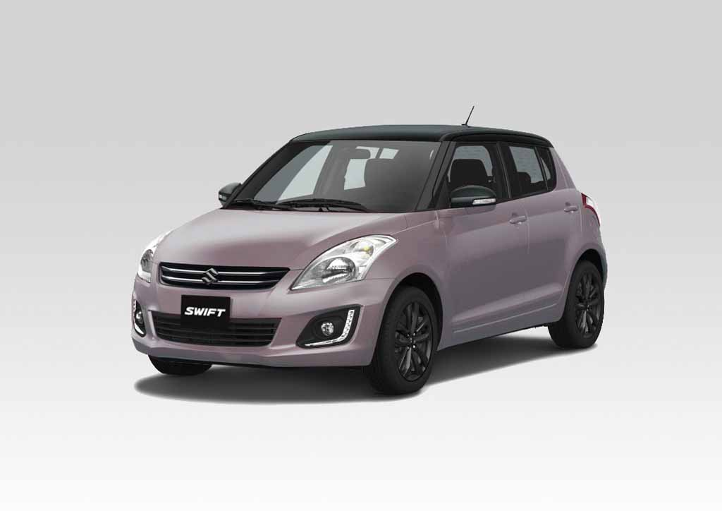 suzuki swift bi colour special edition launched in chile latest car news. Black Bedroom Furniture Sets. Home Design Ideas