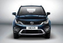 Tata Hexa front