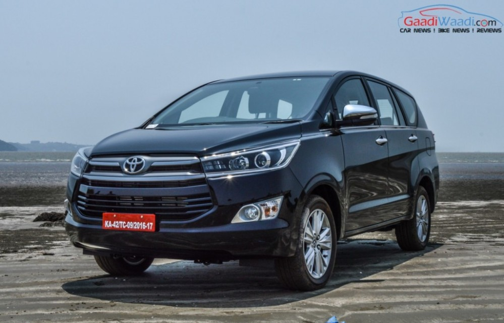 Toyota Innova Crysta 2.8L AT Discontinued, 2.4L AT Launched In India
