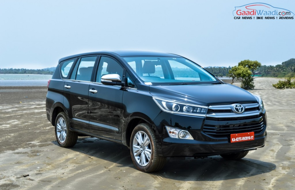 Toyota Innova Crysta black wallpaper 5 (Toyota registers a stunning 81% sales growth)
