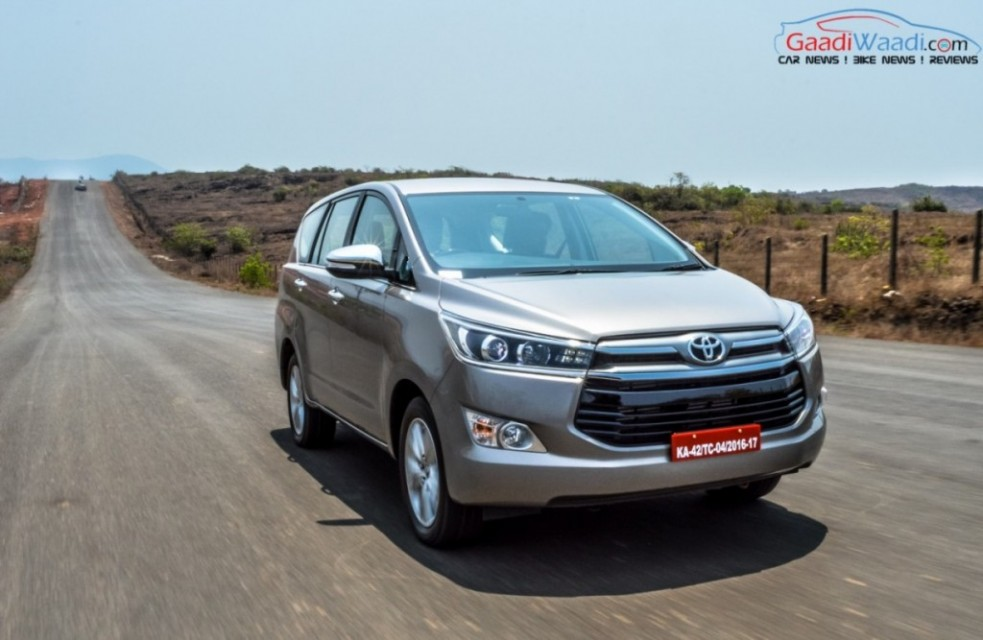 Toyota Innova Crysta india