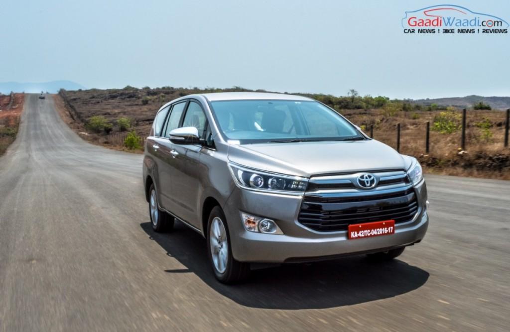 Toyota Innova Crysta india