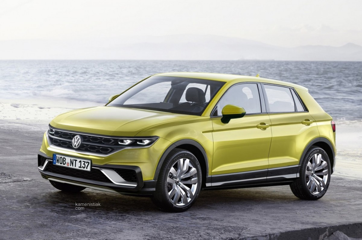 Volkswagen Polo Based Suv Reflects Aggression With Style