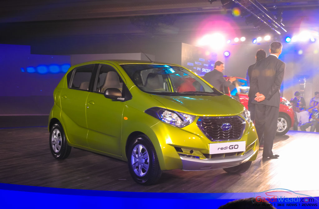 Datsun Redi GO India Launch Date, Specs, Price, Mileage ...