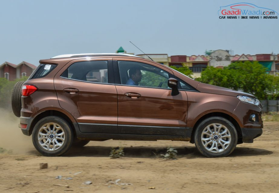 2016 Ford Ecosport low engine nvh