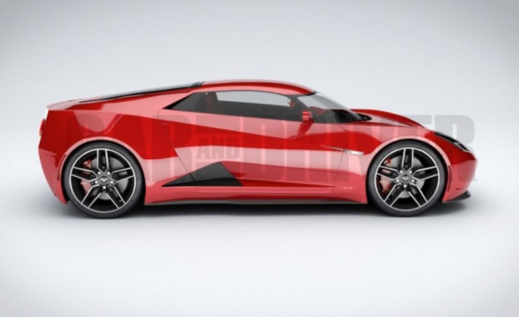Chevrolet C8 Corvette will be Mid-Engined; Launch in 2018 NAIAS - Gaadiwaadi.com - Latest Car ...