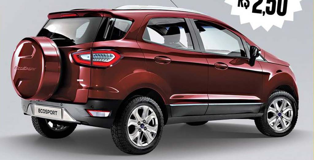 The 2017 Ford EcoSport Would Come More Masculine As Rendered Image Suggests