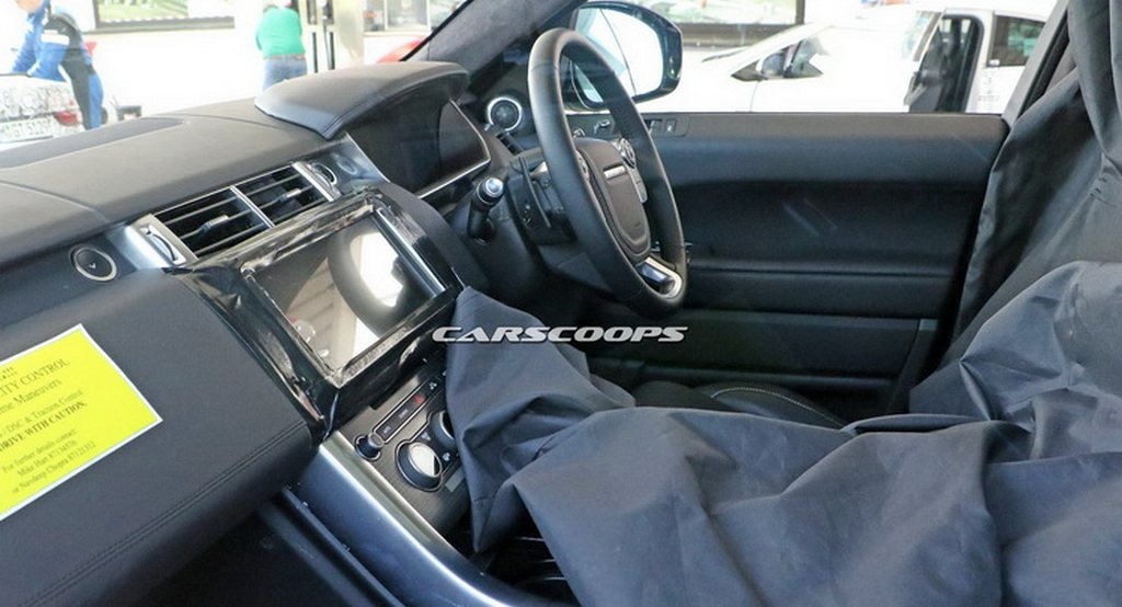 2017 Range Rover Sport Spotted Testing with Interiors ...
