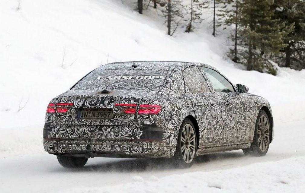 2018 Audi A8 Spied 3