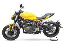 Benelli 750cc Naked sportsbike side