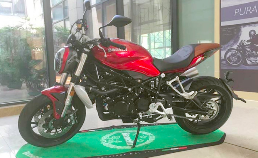 Benelli TNT750 Naked Sportsbike