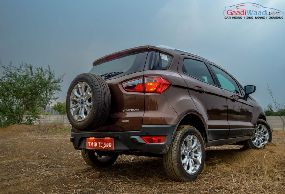 Ford Ecosport 200 mm ground clearance_