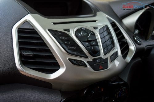 Ford Ecosport music system
