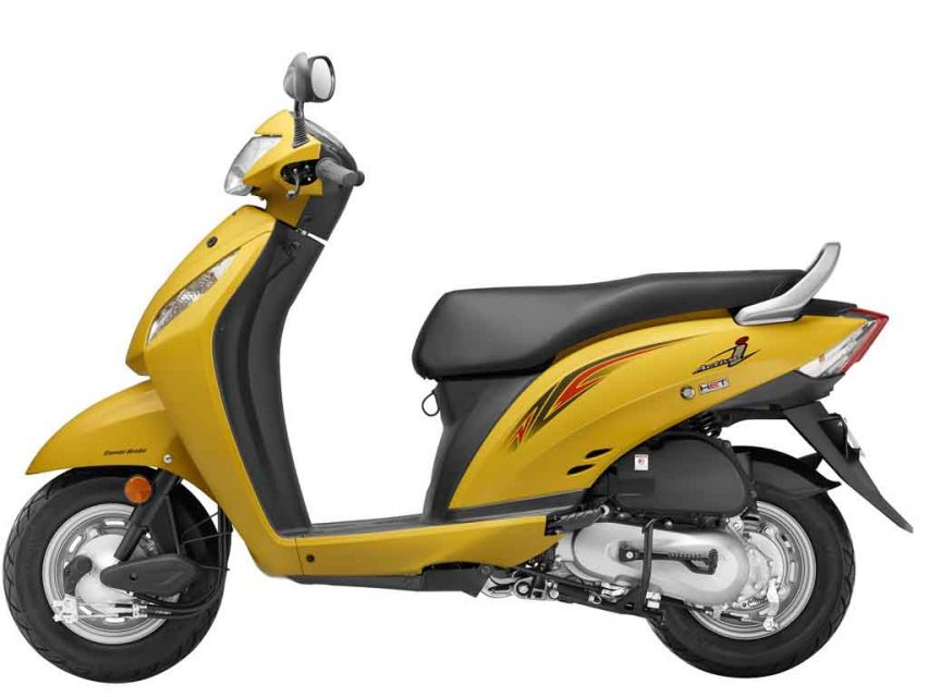 2016 Honda Activa-i comes in three new colour variants