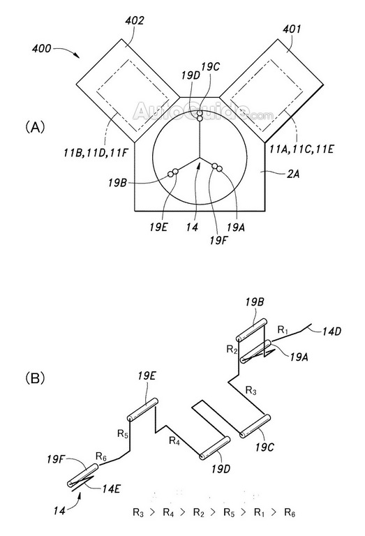 honda patents adjustable displacement engine