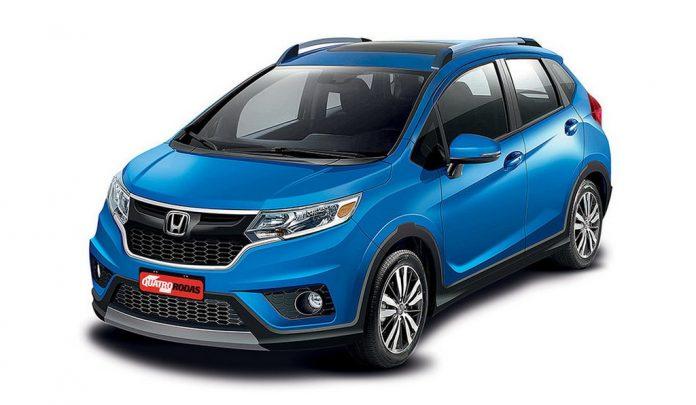 Honda WR-V (Jazz Based Crossover) Rendering