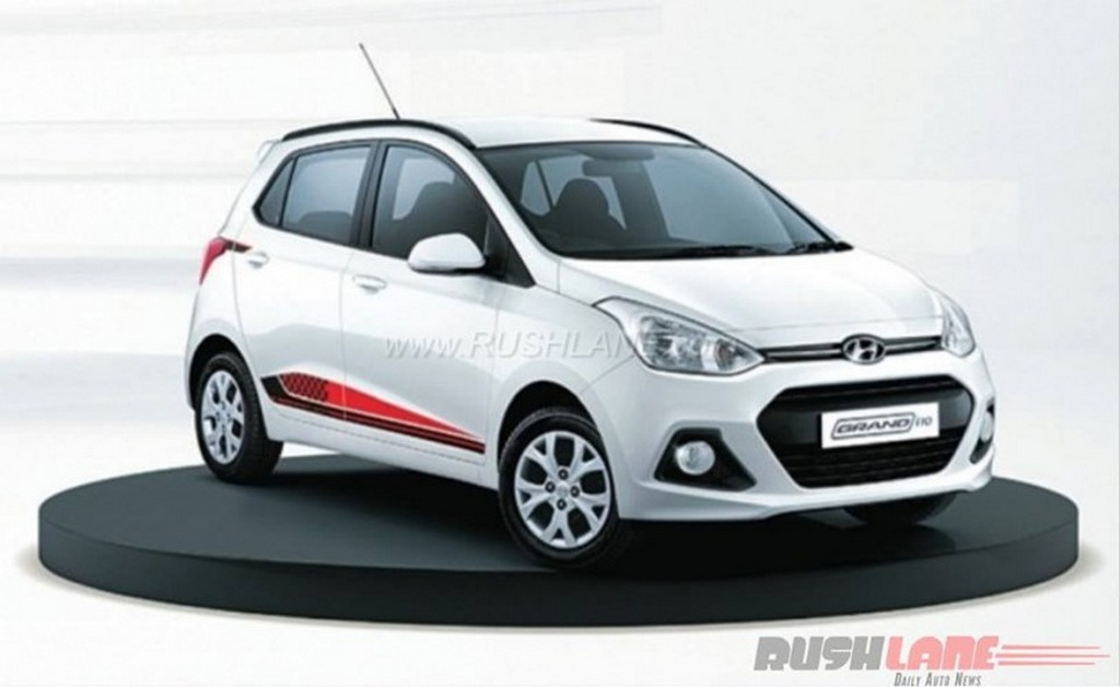 hyundai grand i10 20th anniversary edition launched at rs lakh latest. Black Bedroom Furniture Sets. Home Design Ideas