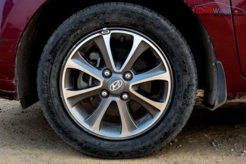 Hyundai Grand i10 alloywheel