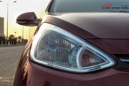 Hyundai Grand i10 headlamp