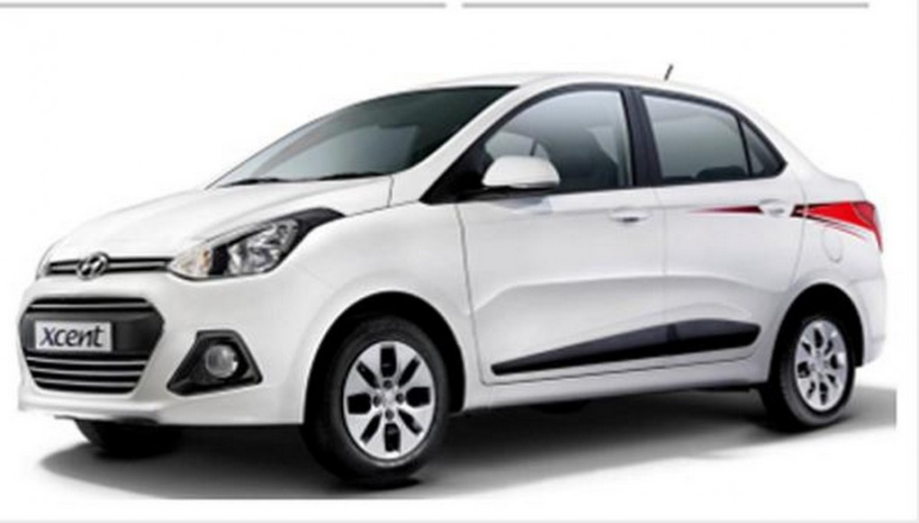 Hyundai Xcent 20th Anniversary Edition 1