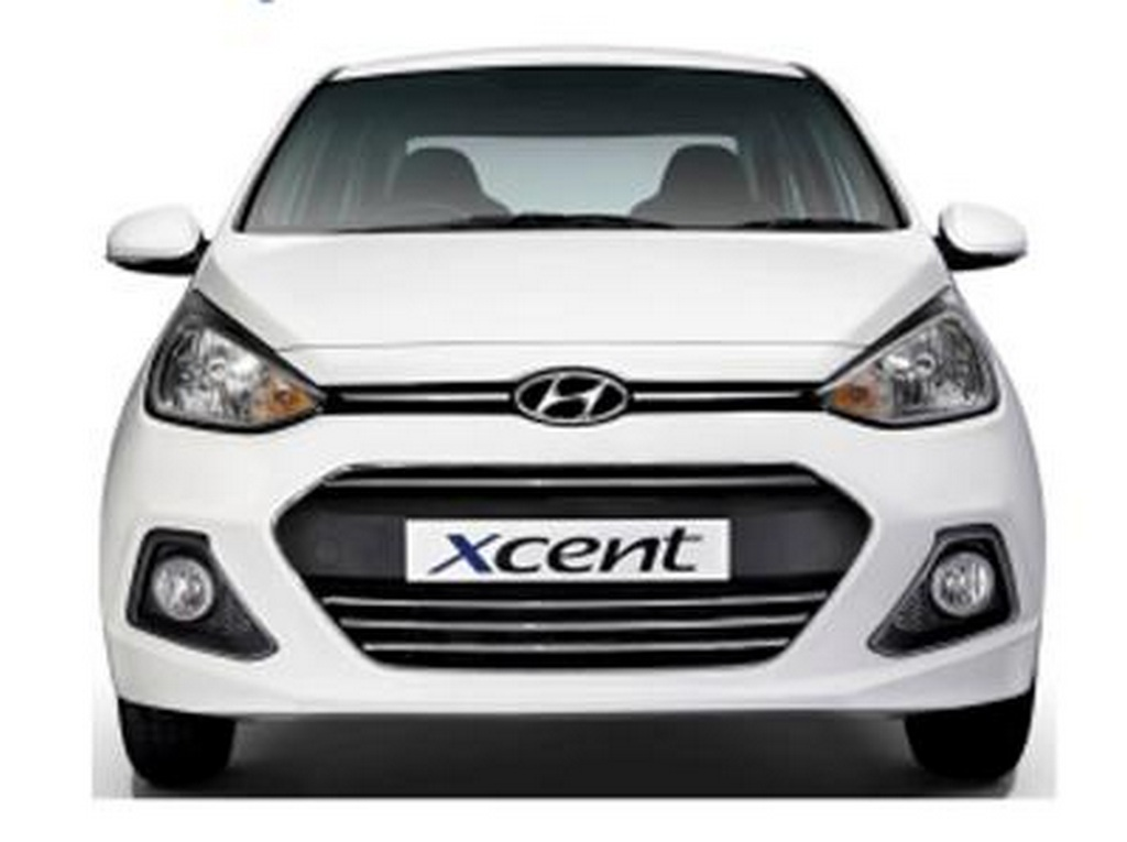 Hyundai Xcent 20th Anniversary Edition front