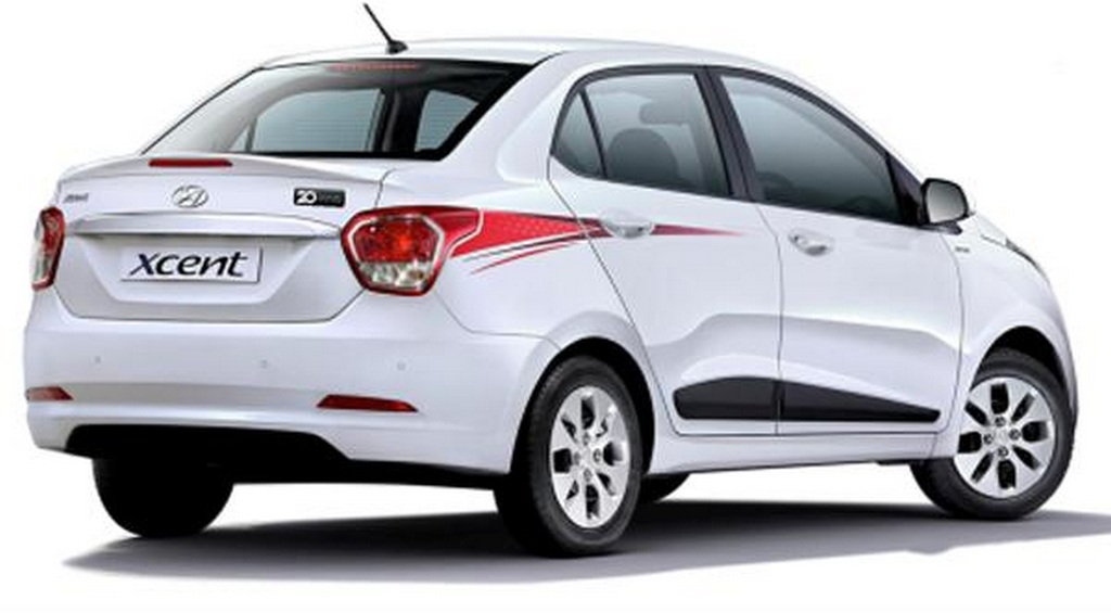 Hyundai Xcent 20th Anniversary Limited Edition Launched At