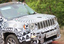 Jeep Renegade Spied Testing with Skoda Yeti 1