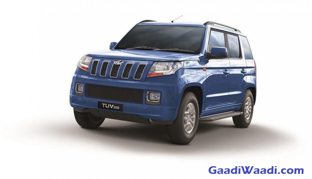 Mahindra TUV300 with mHawk100 Diesel Engine Launched