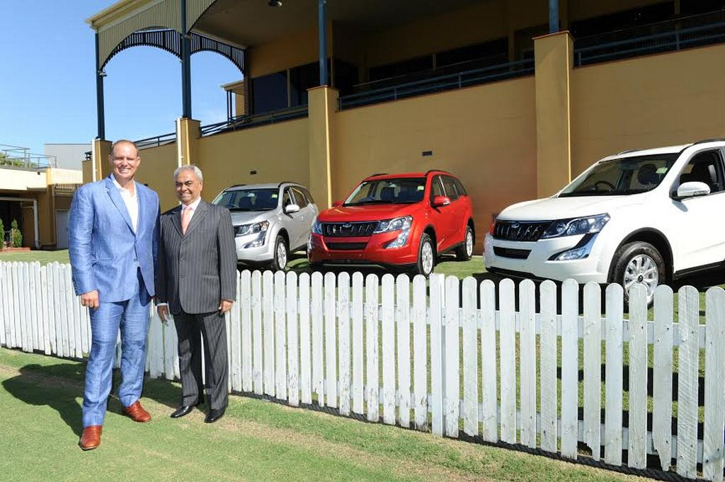Mahindra XUV500 AT Launched in Australia