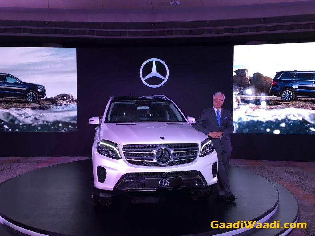 Mercedes-Benz GLS 350d Launched in India
