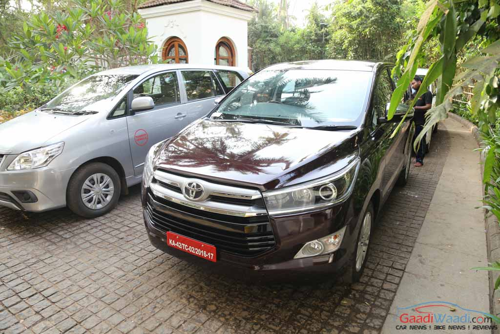 New Innova Crysta Vs Old Innova Features Specs Comparison
