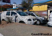 Tata Hexa spotted testing 1