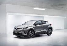 Toyota C-HR crossover 4