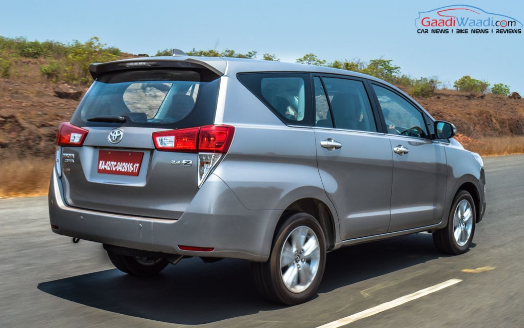 Toyota Innova Crysta Automatic Registers Half Of Total Sales