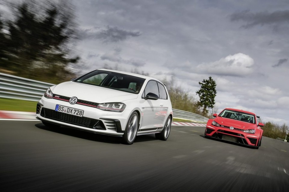 Volkswagen Golf GTI Clubsport S and Golf GTI TCR Racer