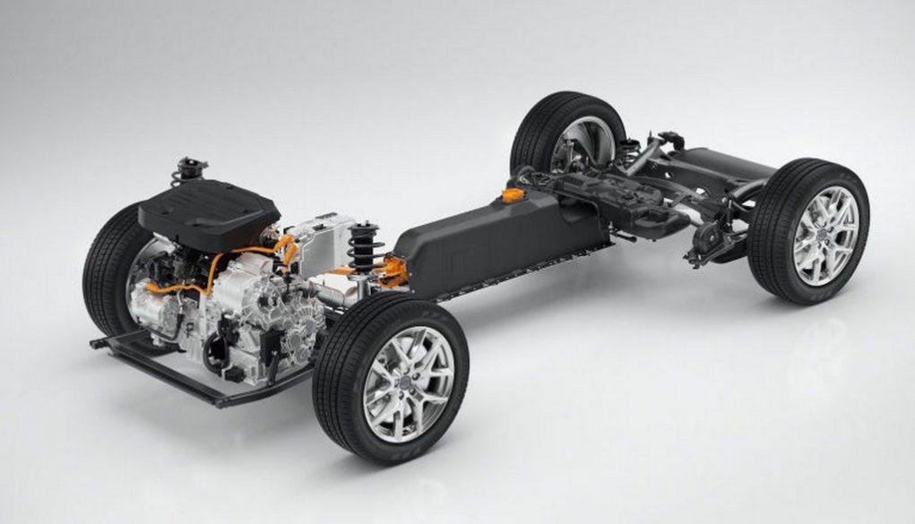 Volvo Concept 40.1 and Concept 40.2 CMA platform
