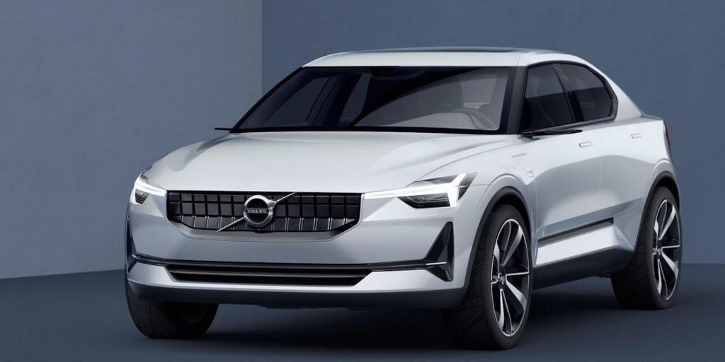 Volvo Concept 40.1 and Concept 40.2 front fascia