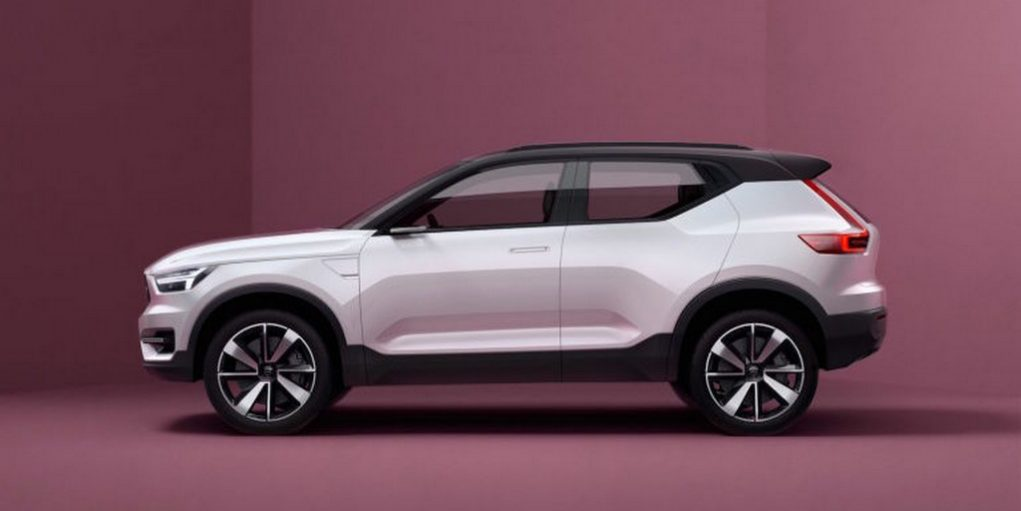 Volvo Concept 40.1 previews all-new XC40 crossover