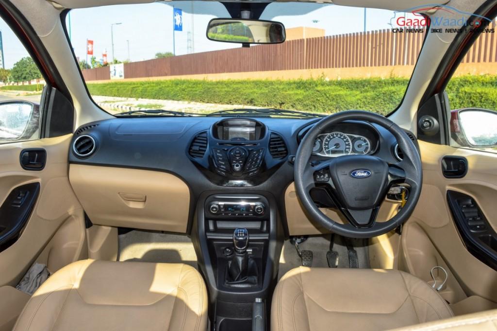 Ford Figo Aspire Interior And Features