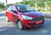 Ford Figo Aspire Automatic updated with seven airbags