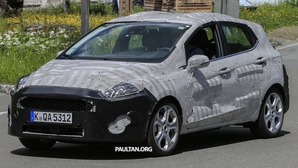 India-Bound 2020 Ford Fiesta Premium Hatchback Spied Testing ...