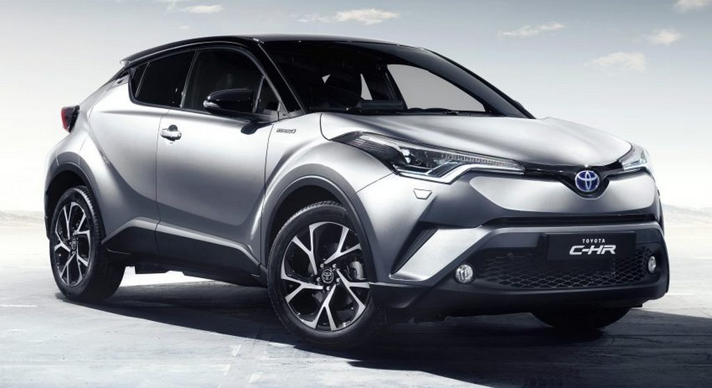 2017 Toyota CHR SUV interior is designed to be the best in the