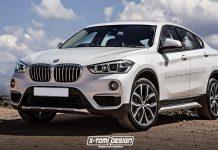 BMW X2 Launch at 2016 Paris Motor Show