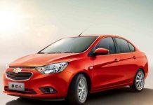 Chevrolet Sail facelift India