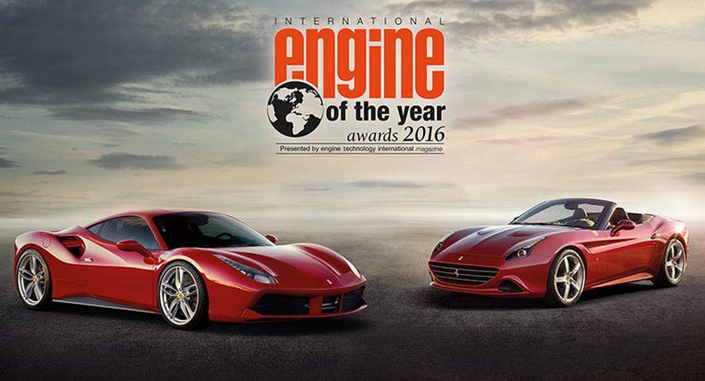 Ferrari Wins International Engine of the Year Award with the 3.9-litre Turbocharged V8 Motor
