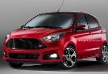 Ford Figo ST Rendered 1