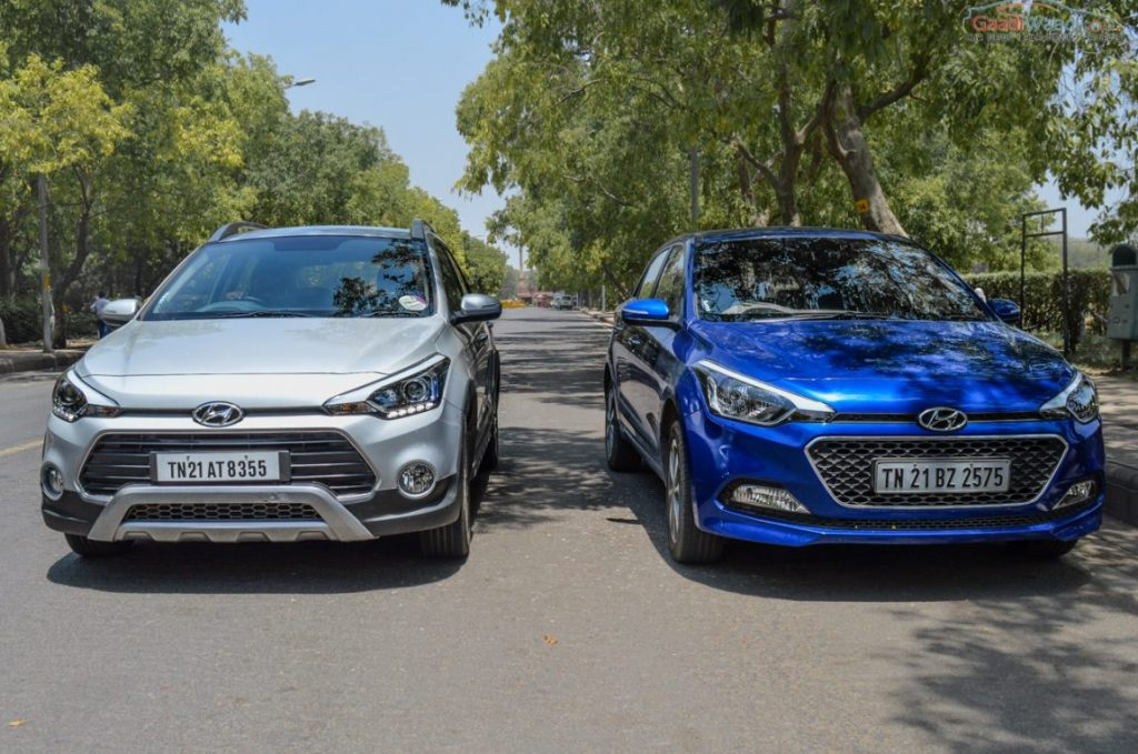 Hyundai elite i20 vs i20 Active Comparison test-2