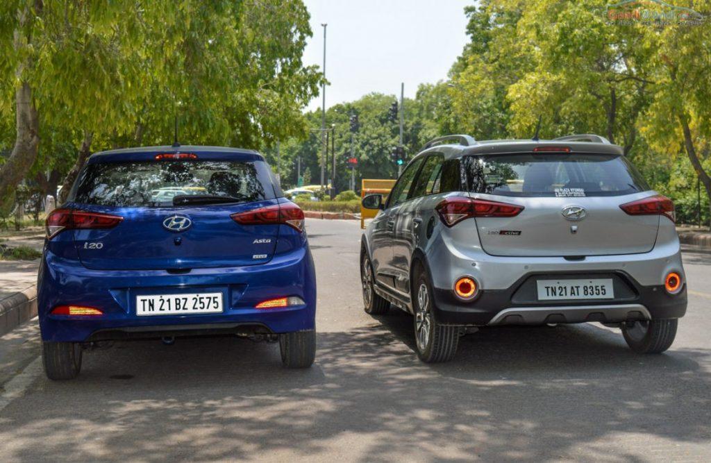 Plastic Wrap Car >> Hyundai Elite i20 vs Active i20 - Specs & Design Comparison